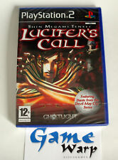 Shin Megami Tensei Lucifer's Call (PS2) - ITA - SPA - NUOVO - NEW - SEALED