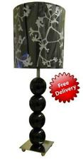 Stylish Black Bobble Table/Desk Lamp with Shade