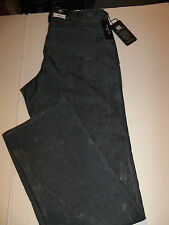30 X 34 ROCK & REPUBLIC STRAIGHT LEG NEIL CORDUROY JEANS -GRAY- NWT