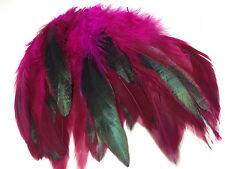 10 Piezas Plumas De Ganso flotante Sombrerería /& Crafts 10-15cm color de rosa caliente
