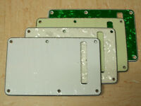 Smaller TREM BACK PLATE COVERS in 9 Colours for Stratocaster STRAT Style Guitars