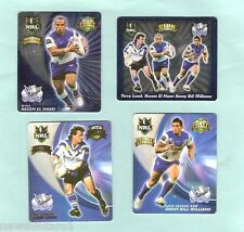 2008  RUGBY LEAGUE  TAZOS  -  CANTERBURY BANKSTOWN BULLDOGS