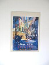 seltenes Disney Plakat MGM Studios opening Spring 1989