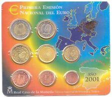 CARTERA DE EUROS FNMT AÑO 2001   ( MB11940 )