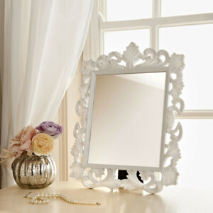 VINTAGE ORNATE DRESSING TABLE MIRROR FRENCH WALL MIRROR MAKE UP MIRROR
