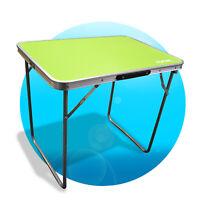 RSonic Campingtisch Aluminium Tisch Klapptisch tragbar 70 x50 cm grün