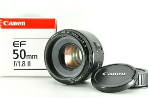""""""" Near Mint w/ Box """" Canon EF 50mm F1.8 II AF Standard Prime Lens From Japan #2"""