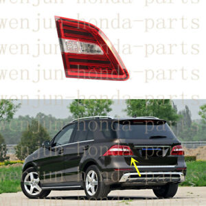 Left Inner Side Tail Brake Light Assembly LED For Mercedes-Benz ML W166 2012-15
