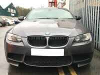 BMW E92 E93 3 Series Coupe Cab Kidney Grill Grille Black 2006 - 2010 Sport
