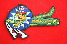 WW2 US 14TH AIR FORCE LEAPING FLYING TIGERS CBI A2 JACKET SQDN PATCH COTTON