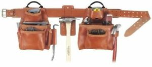 NEW CLC 21448 17 POCKET PRO FRAMER LEATHER SIGNATURE TOOL BELT BAG SALE 5090139