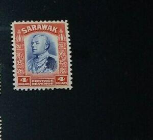 SARAWAK 1934 $4  SG 123 Sc 132 MNH