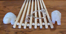 1-925 Sterling Silver Bangle Adjustable Baby/Toddlers Bracelet & Earring Set-SH