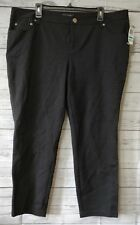 Inc International Concepts women's pants 20WP petite plus size black NWT $79 NEW