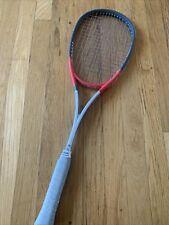 HEAD Ti.140G Squash Racquet, Strung . Made In Austria