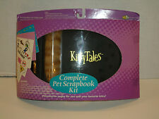 KITTY TALES COMPLETE PET SCRAPBOOK KIT VERY NICE