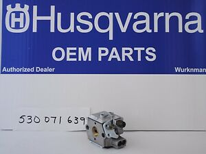 OEM HUSQVARNA 530071639 Walbro WT-639-1 CARBURETOR Poulan Husqvarna Jonsered