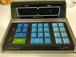 Vintage Unisonic 21 (Calculator - Blackjack) - Jimmy The Greek