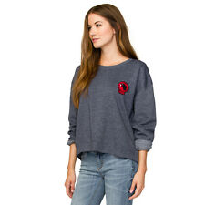 2016 NWT WOMENS ELEMENT NALA CREW PULLOVER SWEATER $45 M navy skateboard project