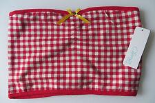 CHERESSI BUSTIER Bandeau S / M,rot weiß Vichy Karo,36 38 40, 164 170,Oktoberfest