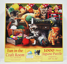 Fun In The Craft Room Jigsaw Puzzle 1000pc
