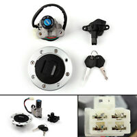 Ignition Switch Lock Fuel Gas Cap Set For Suzuki GSXR400/GK76A 90-95 RF900/94-99