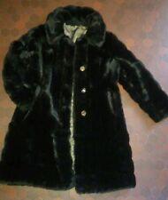 Manteau en fourrure synthétique femme T40