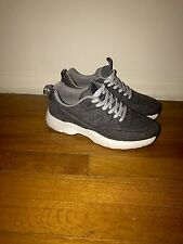 Zara Trafaluc Women's Gray Woven Lace Up Fashion Sneakers US 9 EU 40