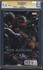 New Avengers # 33 Jeremy Renner signed, Connecting Variant, CGC 9.8 SS, White