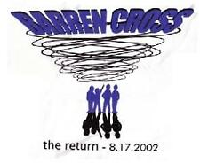 "Barren Cross T-Shirt ""The Return"" tour NEW color design"