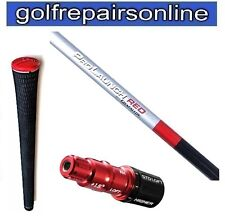 Grafalloy prolaunch Rouge Rigide Shaft équipé taylor made R11s adaptor&tm grip