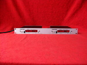 COMTEK BST-25 SYNTHESIZED TRANSMITTERS DUAL TRAY WITH POWER SUPPLIES