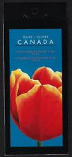 Canada -Booklet Pane of 8 -Tulips: Vancouver, Ottawa, Bishop 2X#1946 (BK257) MNH