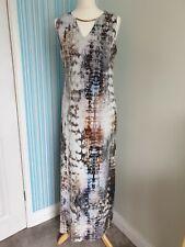 Wallis Maxi Dress, Size 14, Sleeveless, Stretch, Holiday, Beach