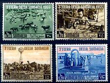 SOMALIA AFIS 1955 - 3° FIERA DELLA SOMALIA PO+PA Serie  Nuova **