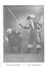 BR101650 arabian nights legend of vandale theatre royal london actor  uk