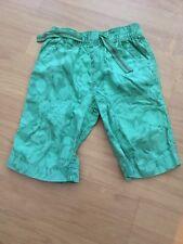 Next Children's Shorts Green Camouflage 6 years Height 116cm 100% cotton 807-502
