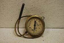 Vintage Marsh Instrument Co Brass Gauge 2 18 Temperature Glass Steampunk