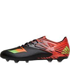 sports shoes 1e5f0 cb3fe Nuova inserzione ADIDAS Messi 15.2 FGAG Scarpe da calcio, Nero, UK 8 12 EU  42 23, prezzo consi.