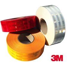 Pellicola adesiva omologata retroriflettente 3M™ Diamond Grade 55mm x 10 Metri