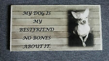 Dog Hand Painted Decorative Door Signs/Plaques