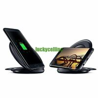 Qi Wireless Fast Charger Charging Stand Pad iPhone Samsung Galaxy S8 S7/S7 Edge
