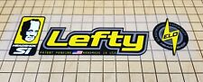 Sticker Decal Set for Old Style Cannondale Lefty ELO or DLR-Yellow & Chrome