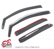In-Channel Model Specific Window Visor 4pc For Chevy Colorado Crew Cab 2013-2017