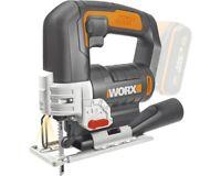 WORX Akku-Stichsäge WX543.9 20V, Basic + GRATIS Akku u. Ladegerät