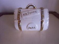 Boite en forme de bagage pour AIR FRANCE  et SABENA