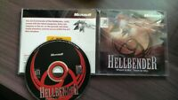 PC CD Hellbender Microsoft Shoot To Kill Think To Win PC CD-ROM Game 1996 RARE