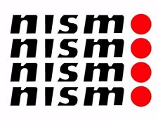 NISMO Quality Wheel decals stickers x5, Nissan, GTR Skyline R32