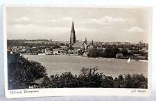 Alte POSTKARTE Schleswig Panorama (1942)