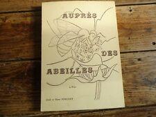 APICULTURE AUPRES DES ABEILLES C. PINGUET 1974  RUCHE MIEL